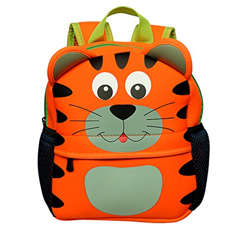 Cartable sac à dos maternelle orange tigre Sumnacon