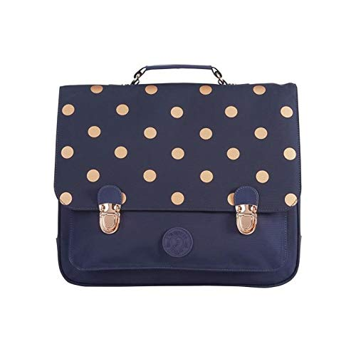 Cartables fille CP Jacadi  35 cm  à gros pois or
