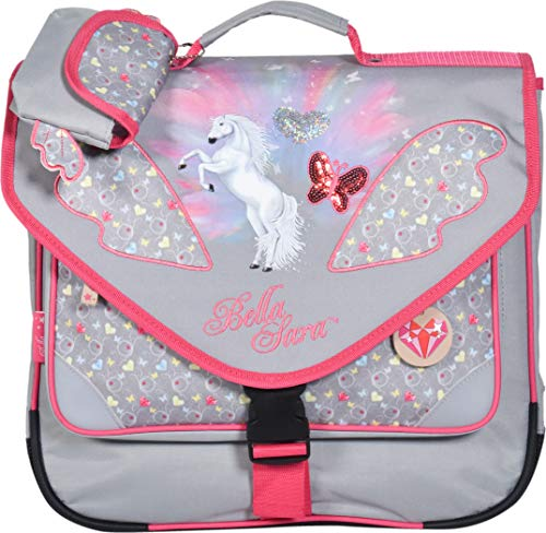 Cartable fille CP cheval Bella rose