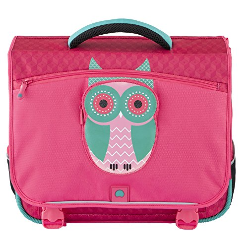 Cartable fille Desley CP rose fushia Chouette