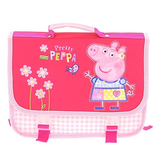 Cartable maternelle fille Peppa pig rose