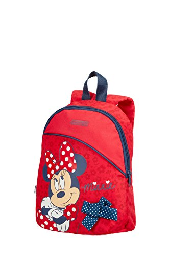 Cartable sac à dos maternelle fille rouge Minnie