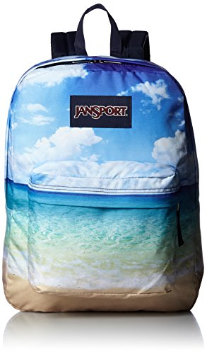 Sac à dos JanSport Superbreak bleu plage