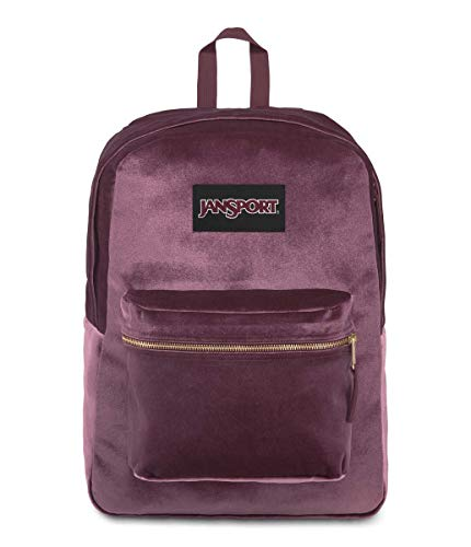 Sac à dos JanSport Superbreak bordeaux satiné