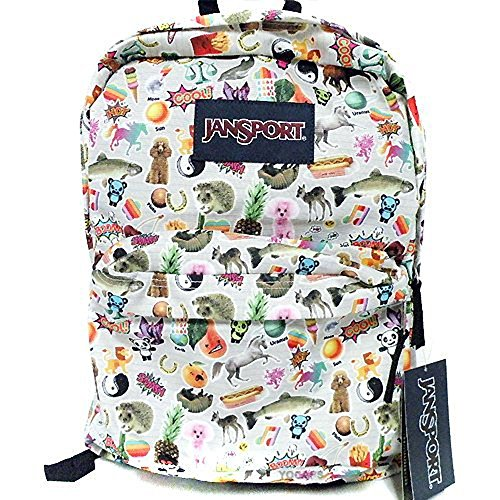 Sac à dos JanSport Superbreak imprimé stickers