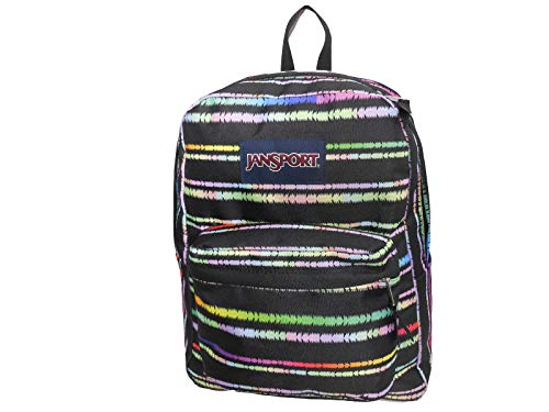 Sac à dos JanSport Superbreak rayures multicolores