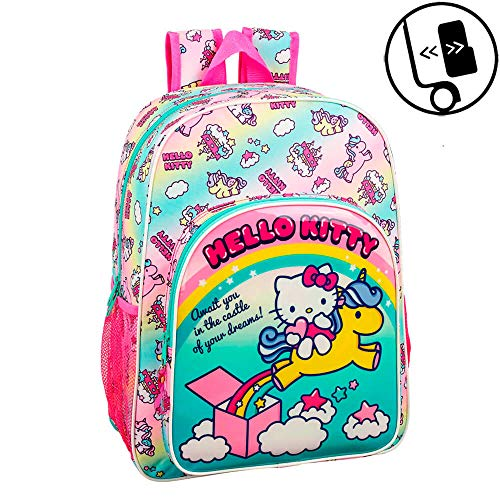 Sac à dos maternelle fille Hello Kitty et sa licorne