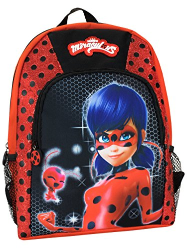Sac à dos maternelle Lady bug rouge Miracoulous
